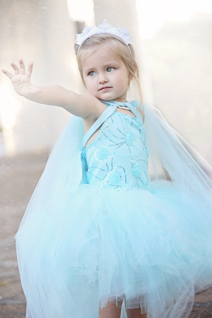 Elsa Inspired Baby Toddler Costume Dress
