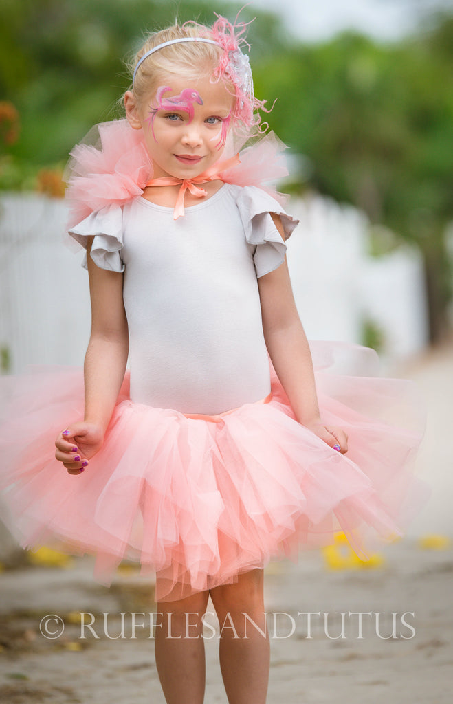 Pink Flamingo Baby Toddler or Kids Costume