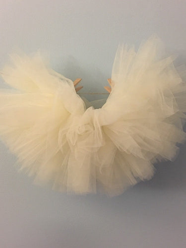 Baby Toddler Ivory Tutu perfect Halloween Costume Tutu for Baby or Toddler