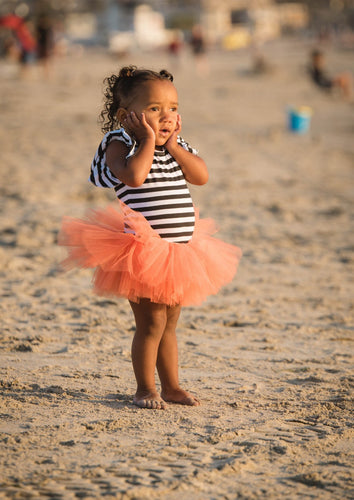 Baby Toddler Orange Tutu perfect Halloween Costume Tutu for Baby or Toddler