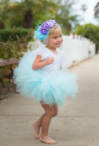 Baby Toddler Agua Tutu perfect Halloween Costume Tutu for Baby or Toddler