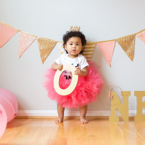 Baby Toddler CORAL Tutu perfect Costume Tutu for Baby or Toddler