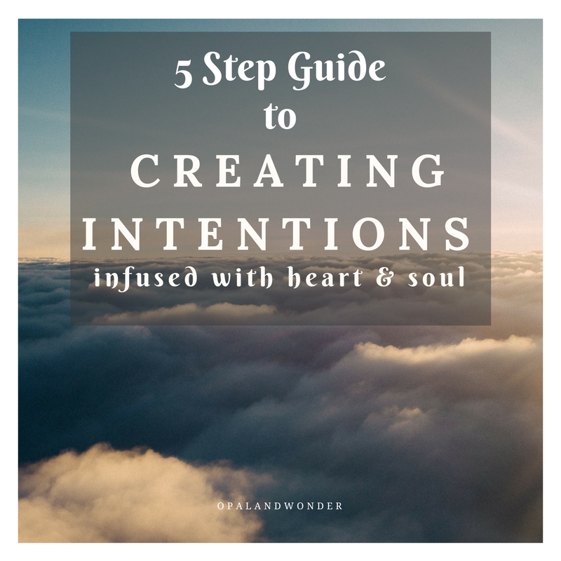 A Guide to Forming + Setting Intentions