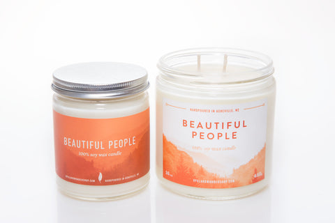 Beautiful People Soy Wax Candle