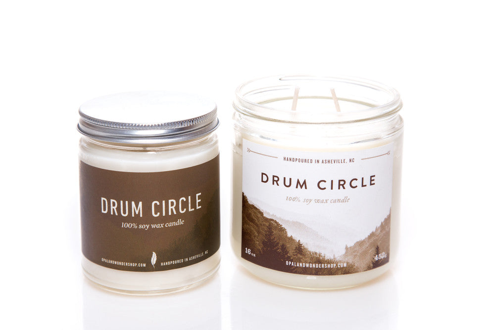 Drum Circle Soy Wax Candle