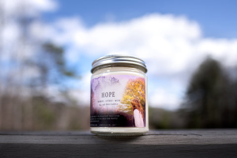 Hope Charity Candle
