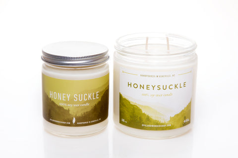Honeysuckle Soy Wax Candle