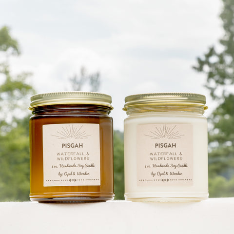 PISGAH 8 oz. Cabin Candle