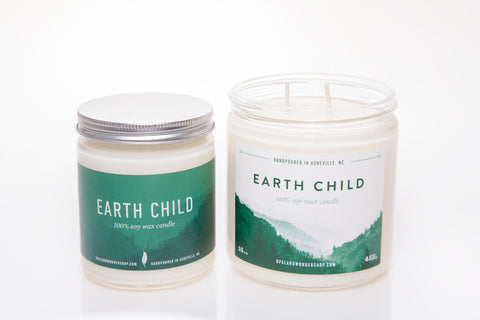 Earth Child Soy Wax Candle