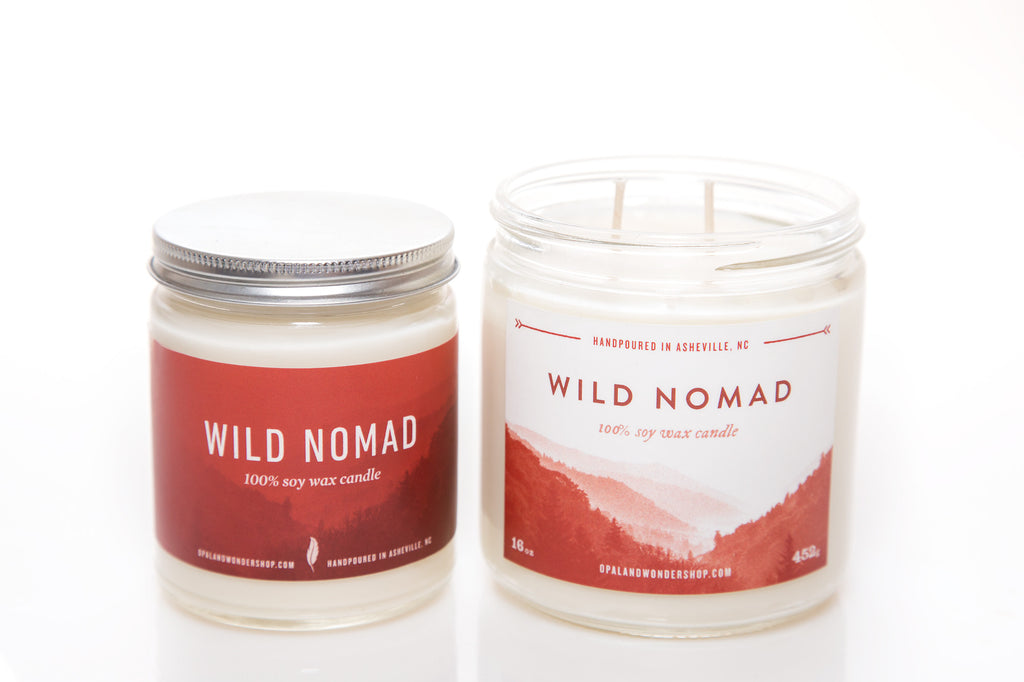 Wild Nomad Soy Wax Candle