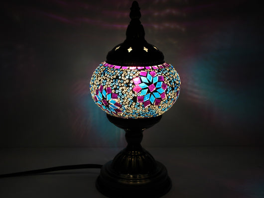 samiksha Turkish Mosaic Table Lamp with Bronze Finish - ACL2 - Samiksha's - Lighting - www.samiksha.com