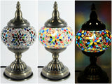 samiksha Turkish Mosaic Table Lamp with Bronze Finish - ACL9 - Samiksha's - Lighting - www.samiksha.com