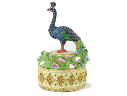 samiksha Peacock Trinket and Jewelry Box - Samiksha's - Gifts - www.samiksha.com