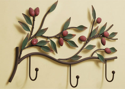 samiksha Spiral Branch Metal Key Holder - Samiksha's - Wall Art - www.samiksha.com