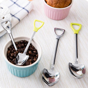 "Stainless Steel Spoons ""Shovel Shape Design"" 🥄"