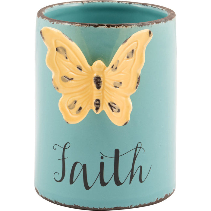 Faith Ceramic Planter