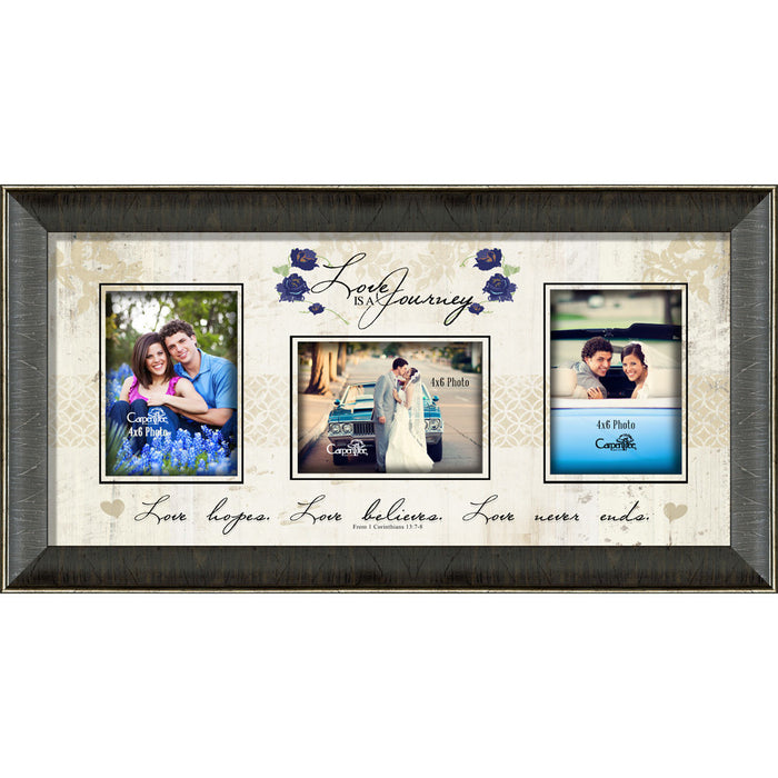 Love Is A Journey Collage Photo Frame