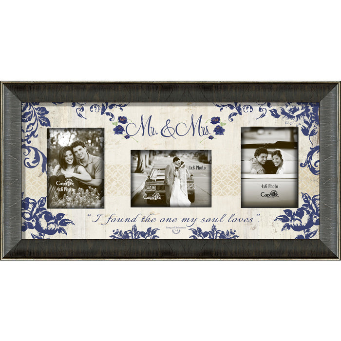 Mr. & Mrs. Framed Photo Collage