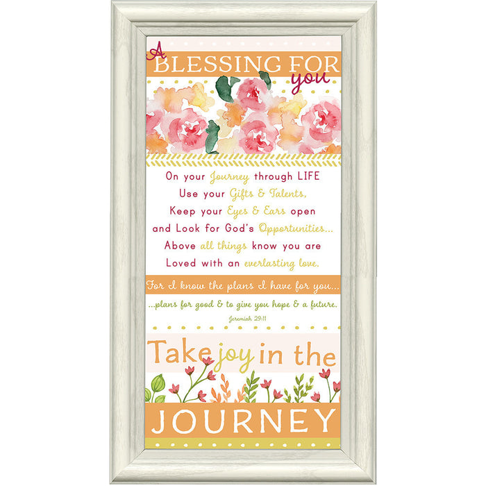 Take Joy in The Journey Framed Art