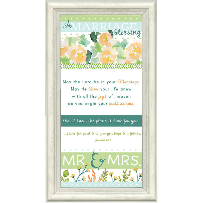 A Marriage Blessing Framed Art