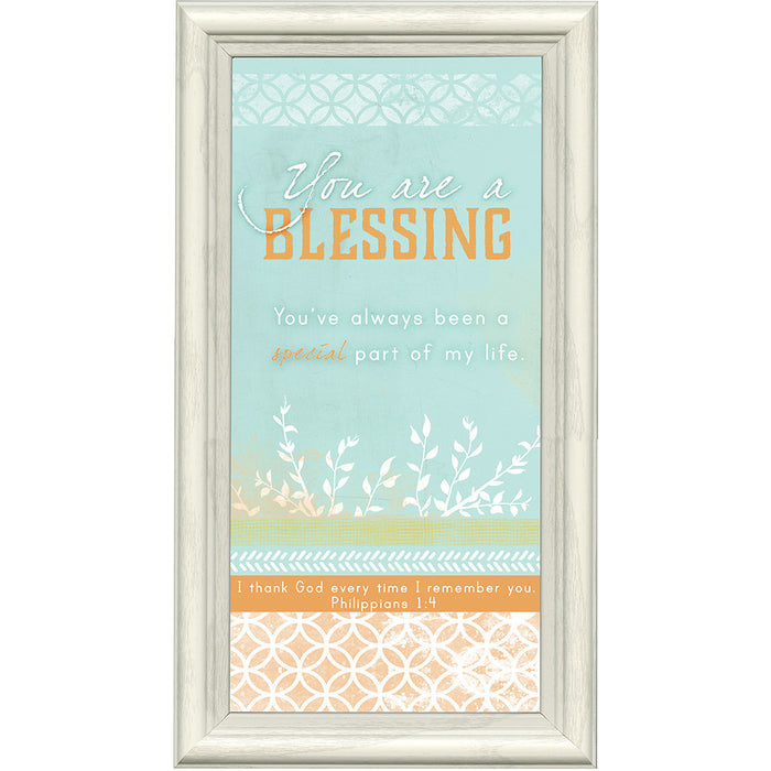 You Are a Blessing Framed Art