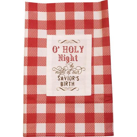 O HOLY NIGHT TEA TOWEL