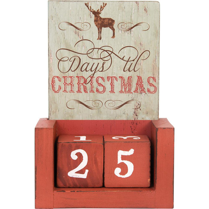 Days Till Christmas Blocks (12672) - Carpentree