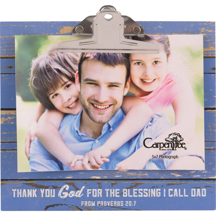 Clipboard Photo Frame with Easel Back