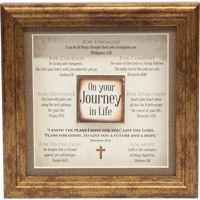 On Your Journey Framed Art - Carpentree