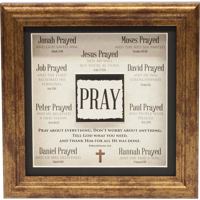 Pray Framed Art - Carpentree