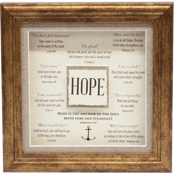 Hope Framed Art - Carpentree