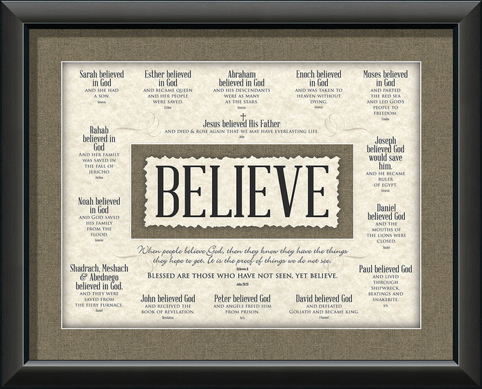 Believe Framed Art