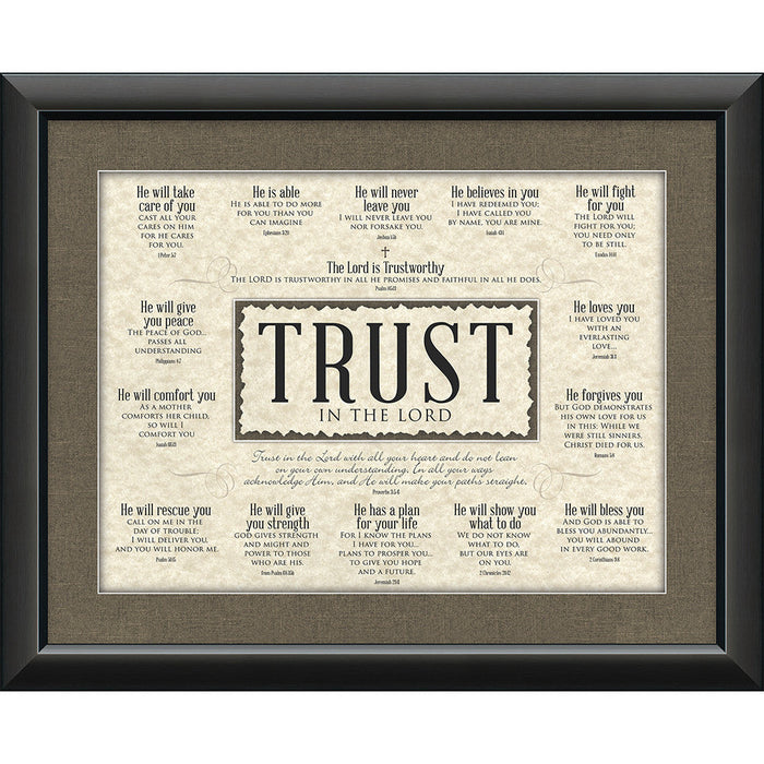 Trust Framed Art