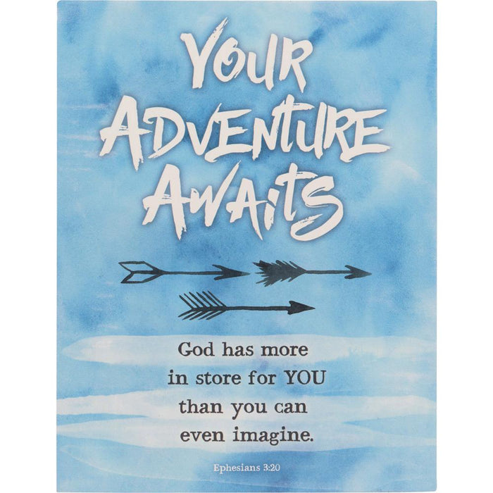Your Adventure Awaits Graduate Plaque