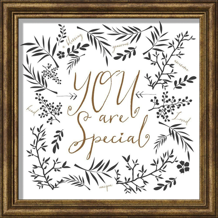 You Are Special Framed Art