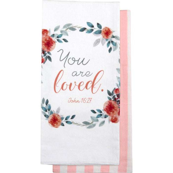 You Are Loved Tea Towel (18670)