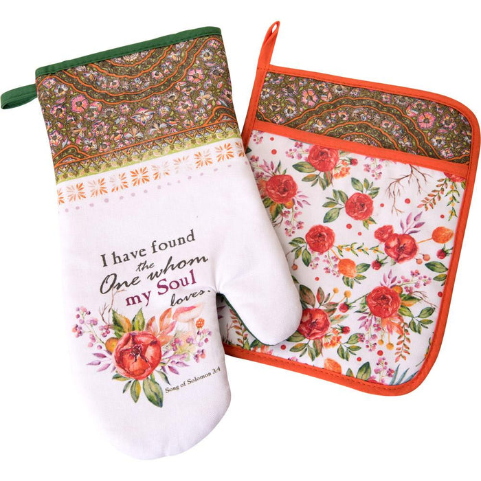 I Found the One Oven Mitt and Potholder Set (18744) - Carpentree