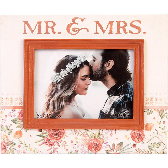 Mr. and Mrs. Photo Frame (18748)