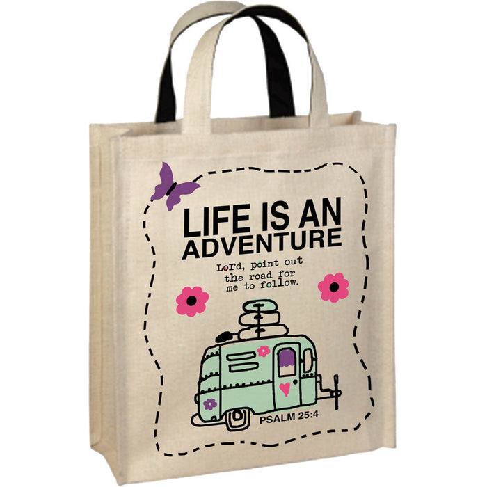 Life Is An Adventure - Tote