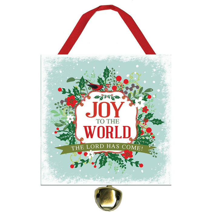 Jot to the World Jingle Bell Ornament