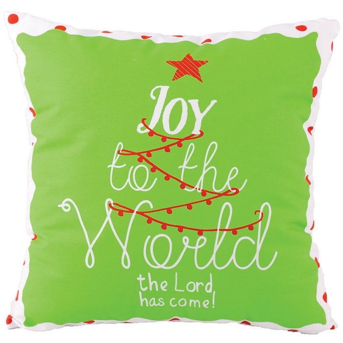 Joy To The World Pillow