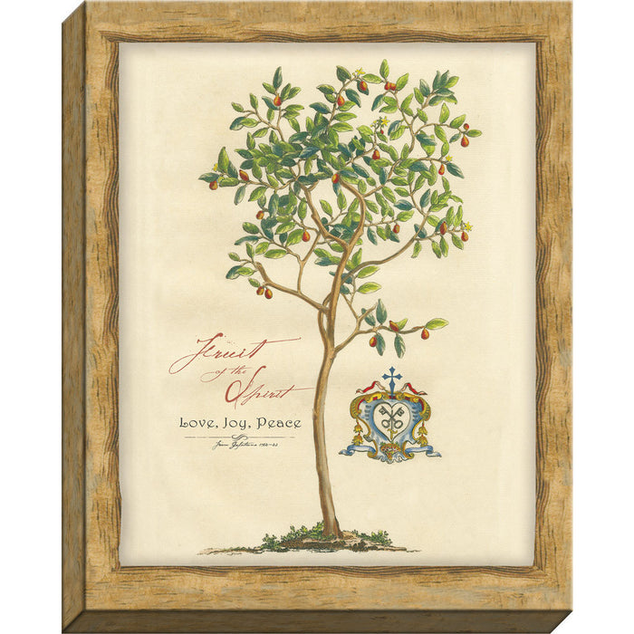 Fruit of The Spirit Framed Canvas - Carpentree