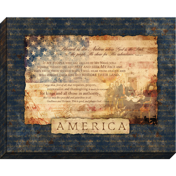 America Canvas - Carpentree