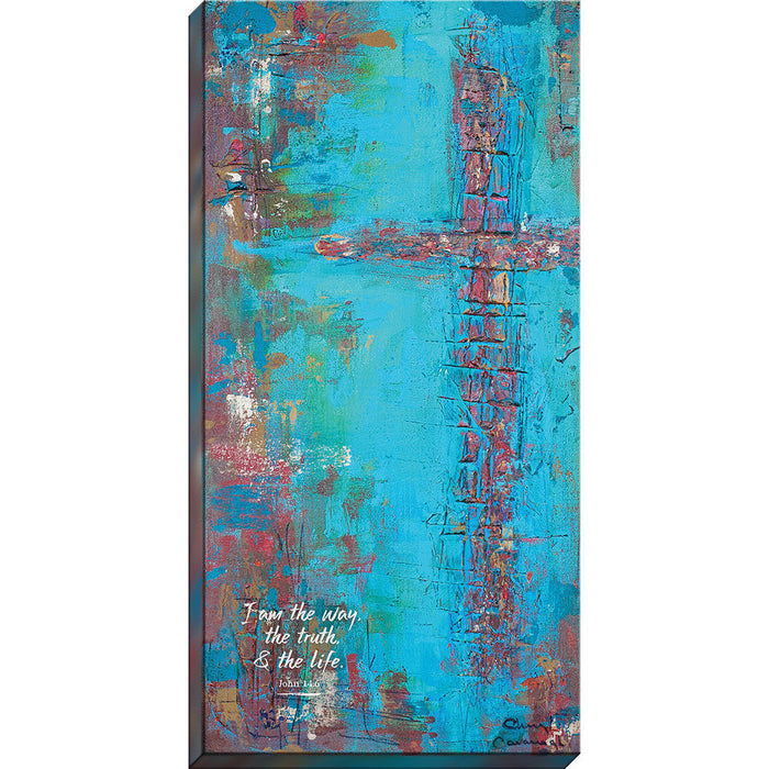 I Am The Way Christian Canvas art - Carpentree canvases
