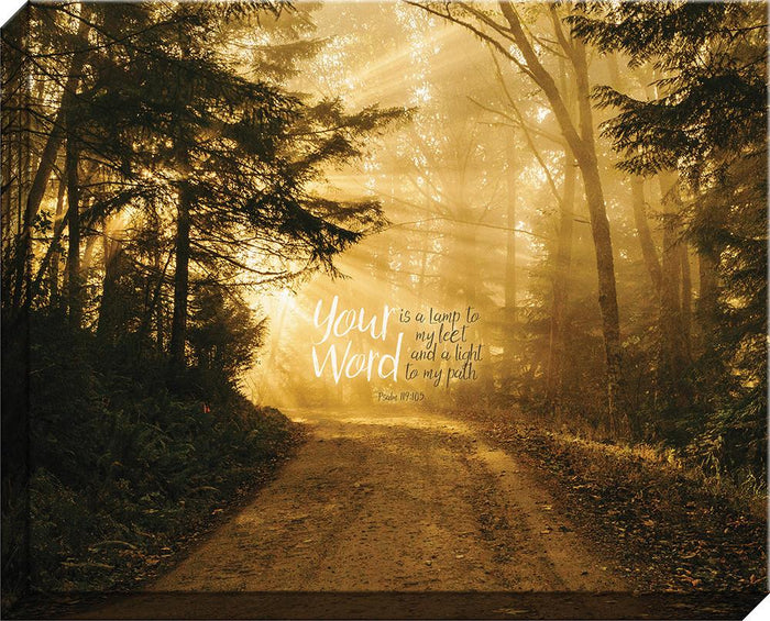 Your Word Forest Canvas