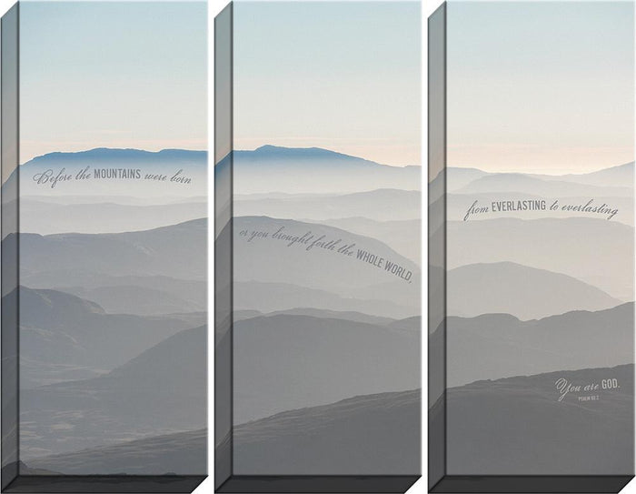 You are God Triptych Canvas - Carpentree