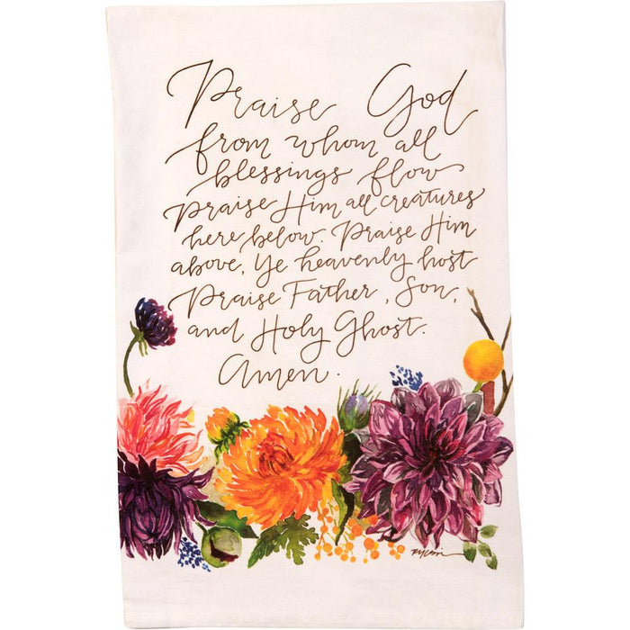 GraceLaced For Carpentree - Doxology Tea Towel (20196)
