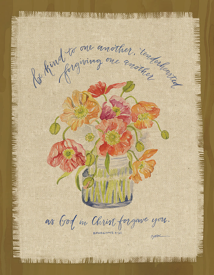 GraceLaced For Carpentree Be Kind 8x10 Fringed Plaque - Carpentree