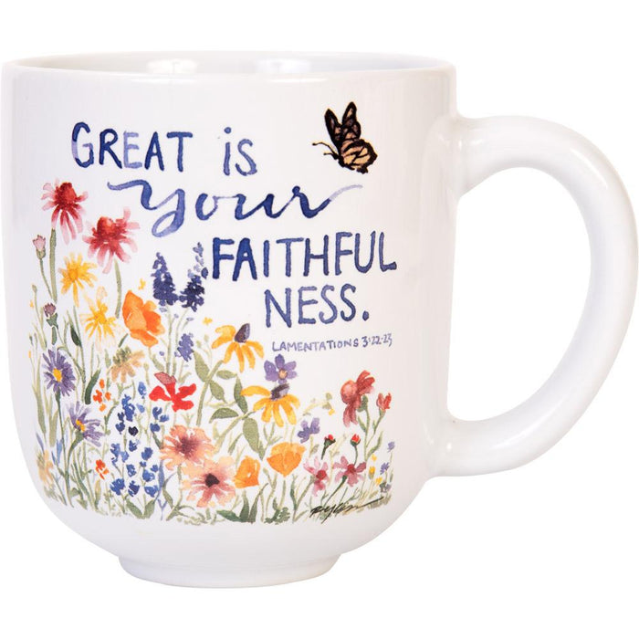 GraceLaced For Carpentree - Great Is Your Faithfulness Mug (20243)