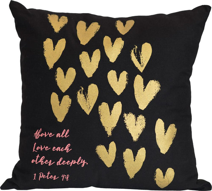 Love Each Other Pillow